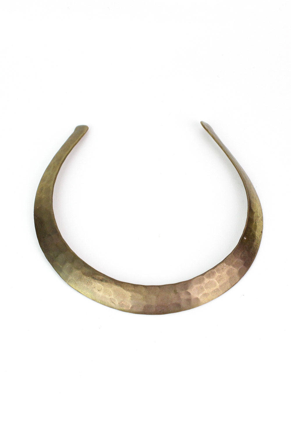 Brass Horseshoe Choker