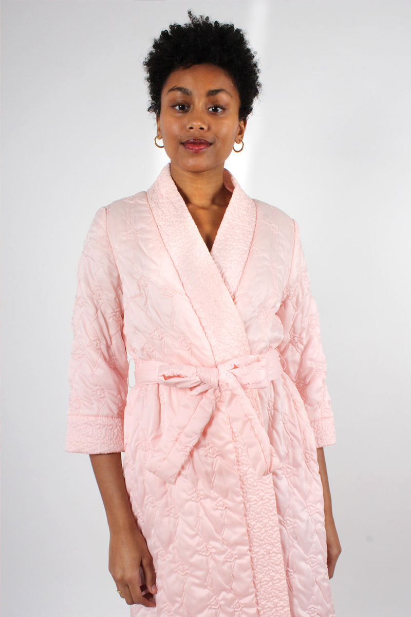 Cotton Candy Quilted Robe XS-M