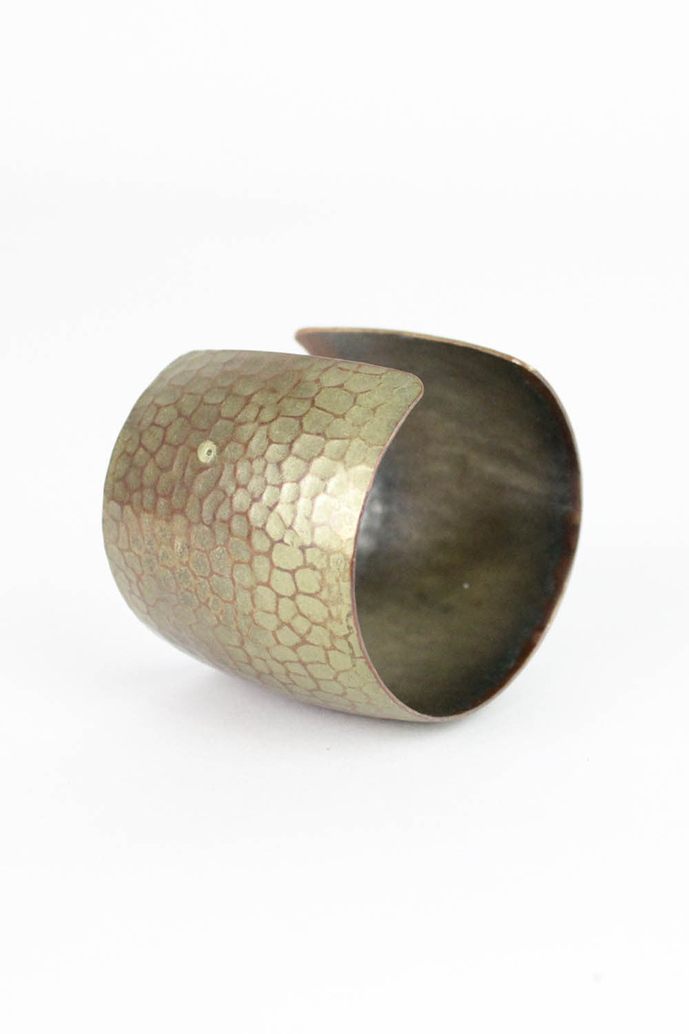 Hammered Honeycomb Cuff