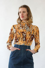 Hidden Tiger Novelty Top XS/S