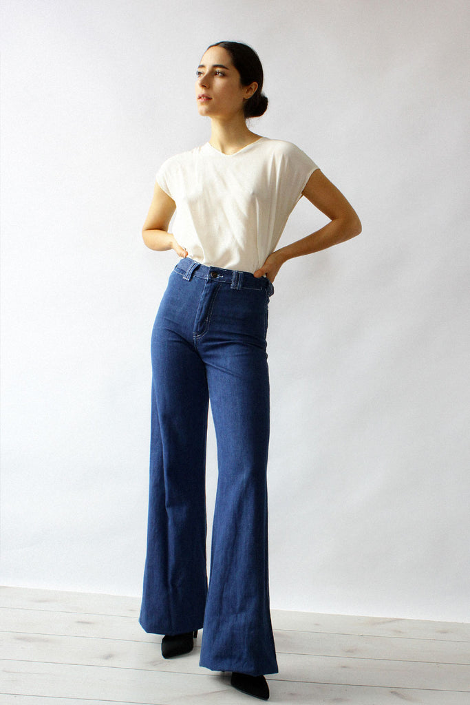 70s Stilt Bell Bottoms XS