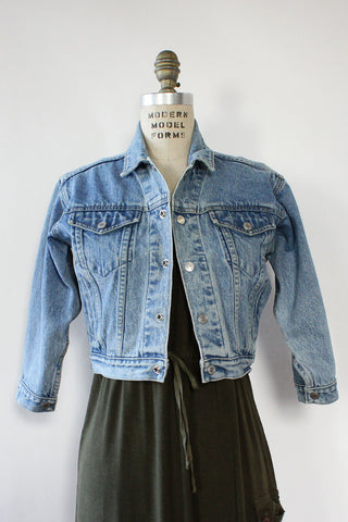 Shrunken Denim Jacket XS/S