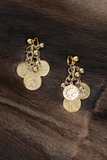 Gold Coin Clip-Ons