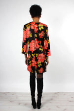Mod Floral Mini Dress S/M