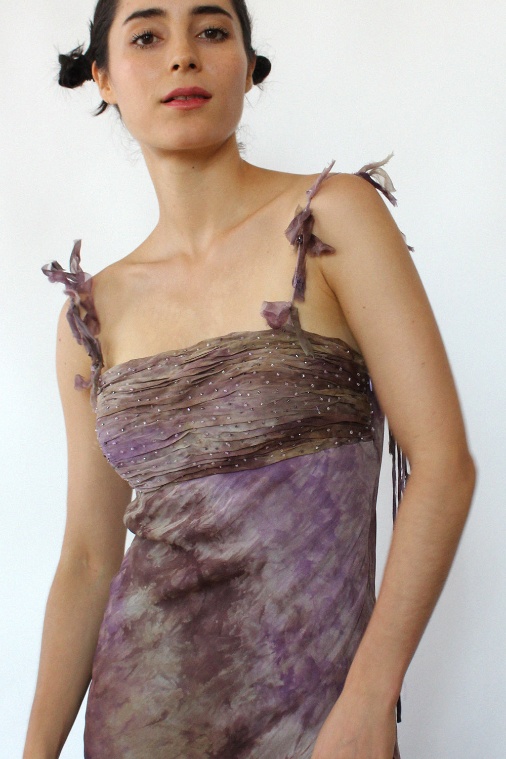 Purple Haze Silk Dress XS/S