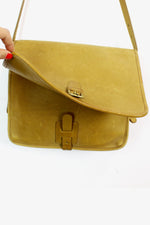 Coach 1970s camel tan satchel