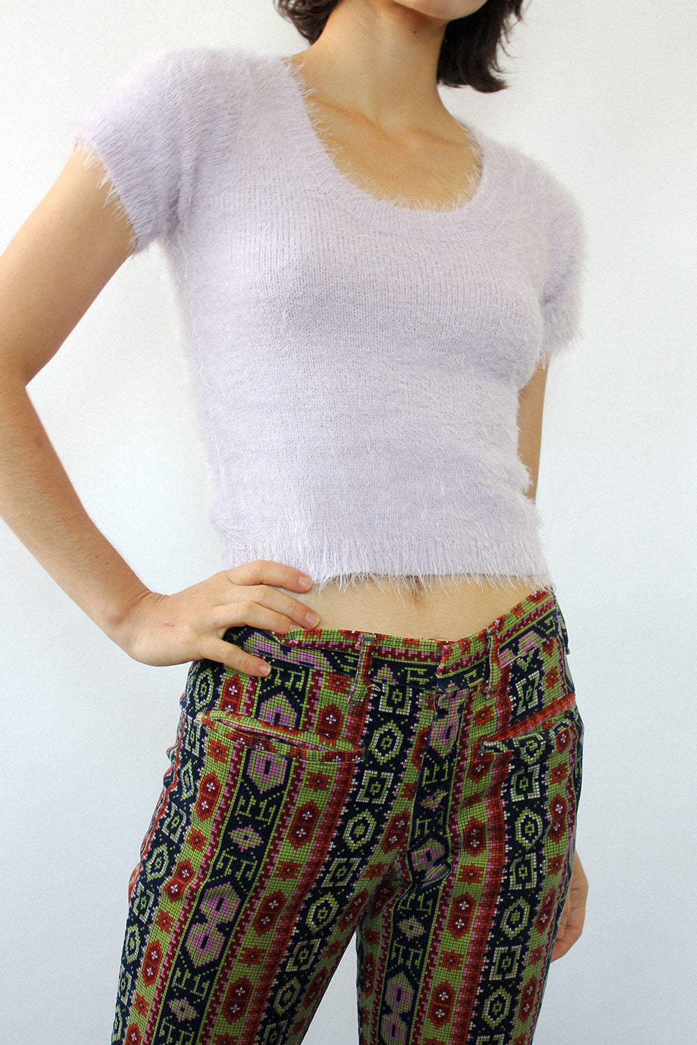 Austin Low Rise Tapestry Cords XS