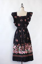 Stellas Midnight Floral Ruffle Dress XS