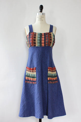 Indigo Ranch Dress S/M
