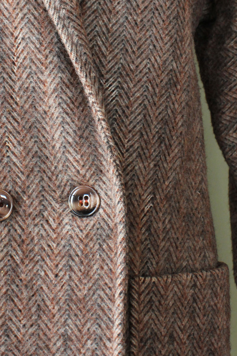 Braefair Herringbone Coat S/M