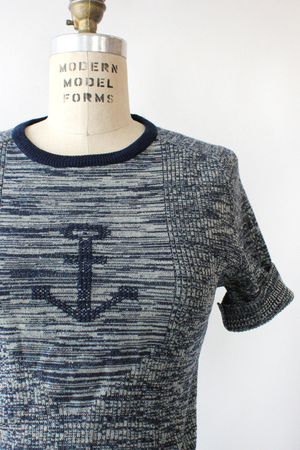 Anchors Away Knit Tee S/M