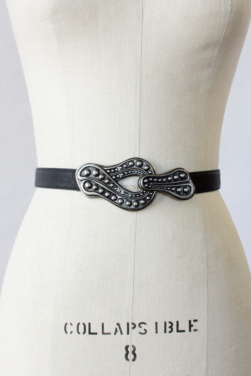 Pewter Hook Sling Belt