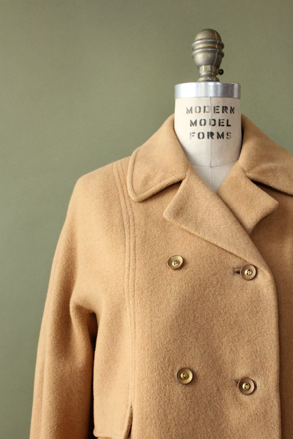 Jay Camel Hair Coat S/M