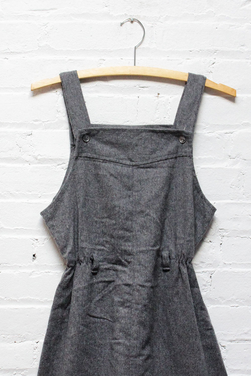 Charcoal Woolly Wiggle Dress XS