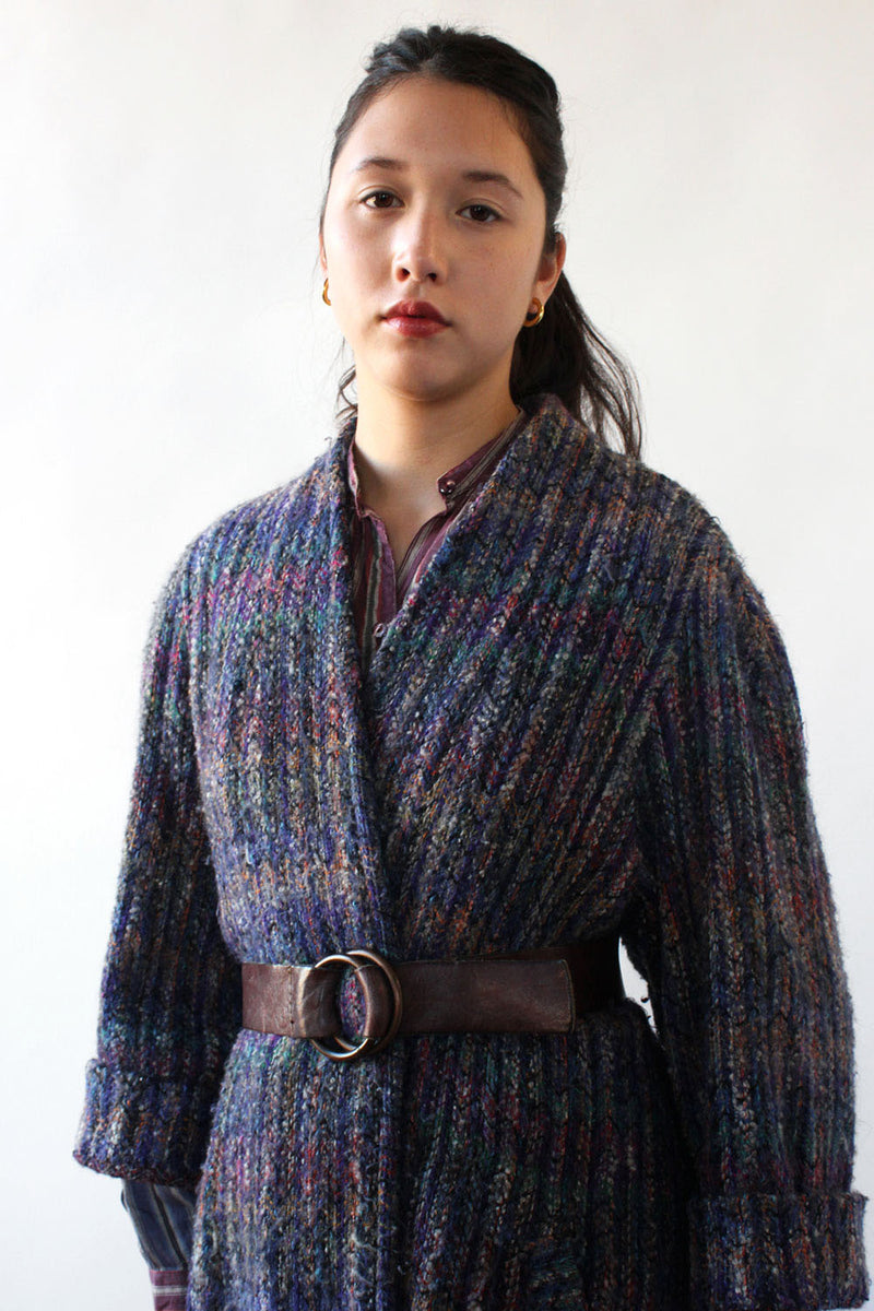 Genoa Rainbow Sweater Jacket