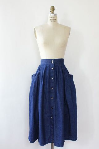 Go West Denim Skirt XS/S