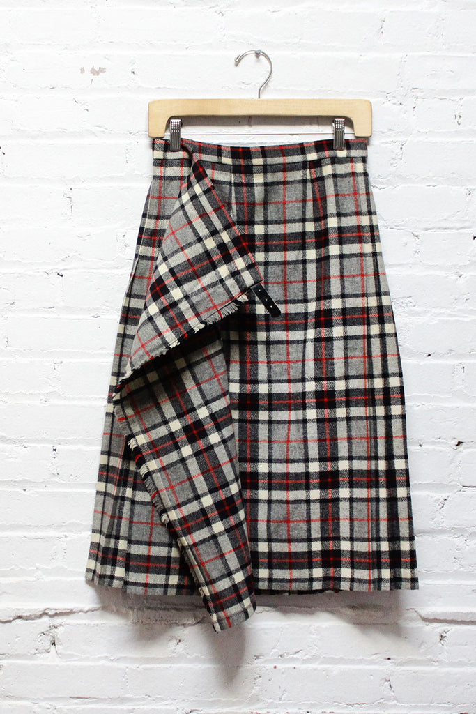 Red Line Plaid Kilt XS/S