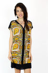 Broadway & Broome Silk Paisley Dress