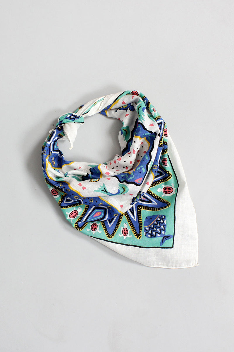 Turtle & Co. Cotton Scarf