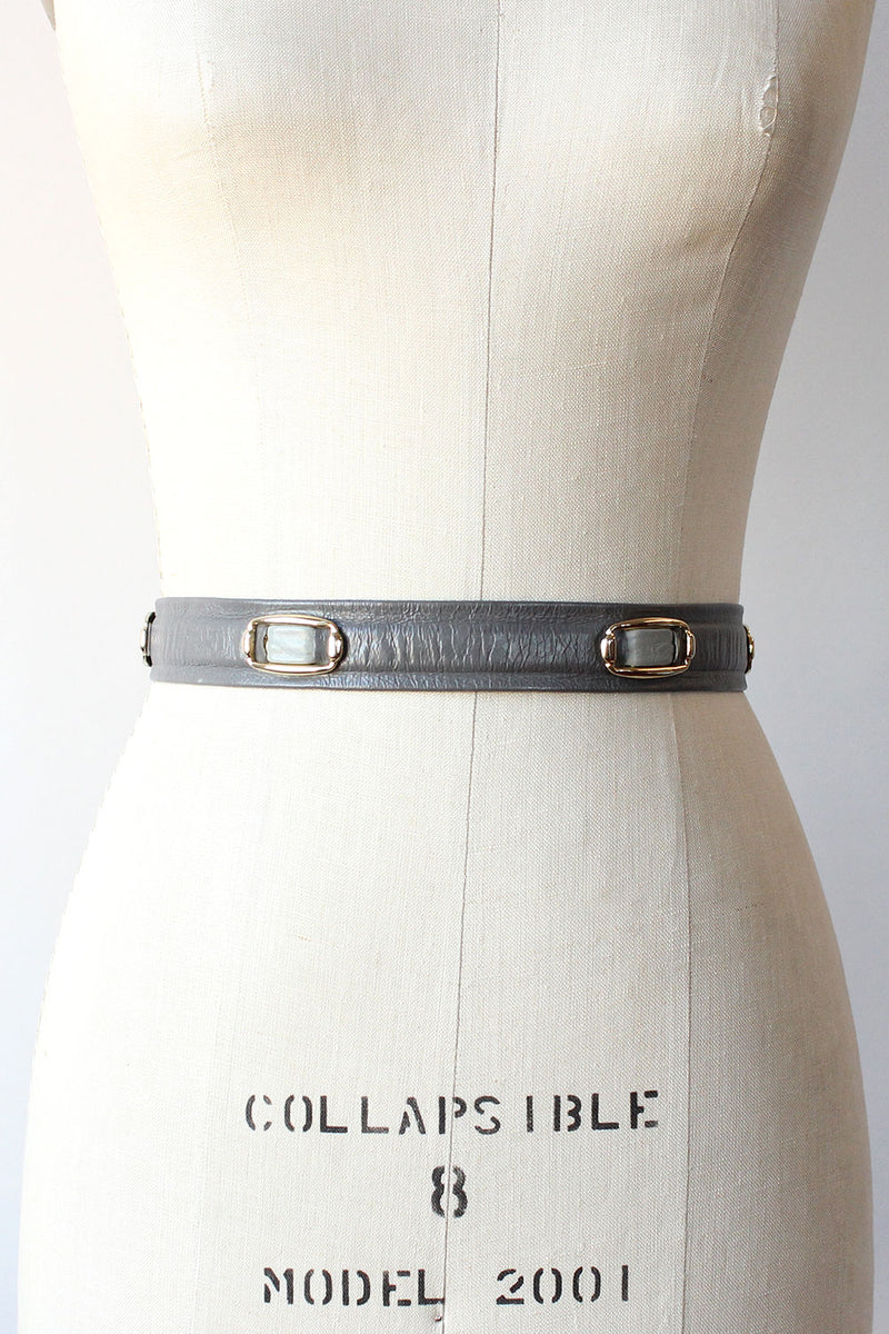 Pewter Medallion Cinch Belt