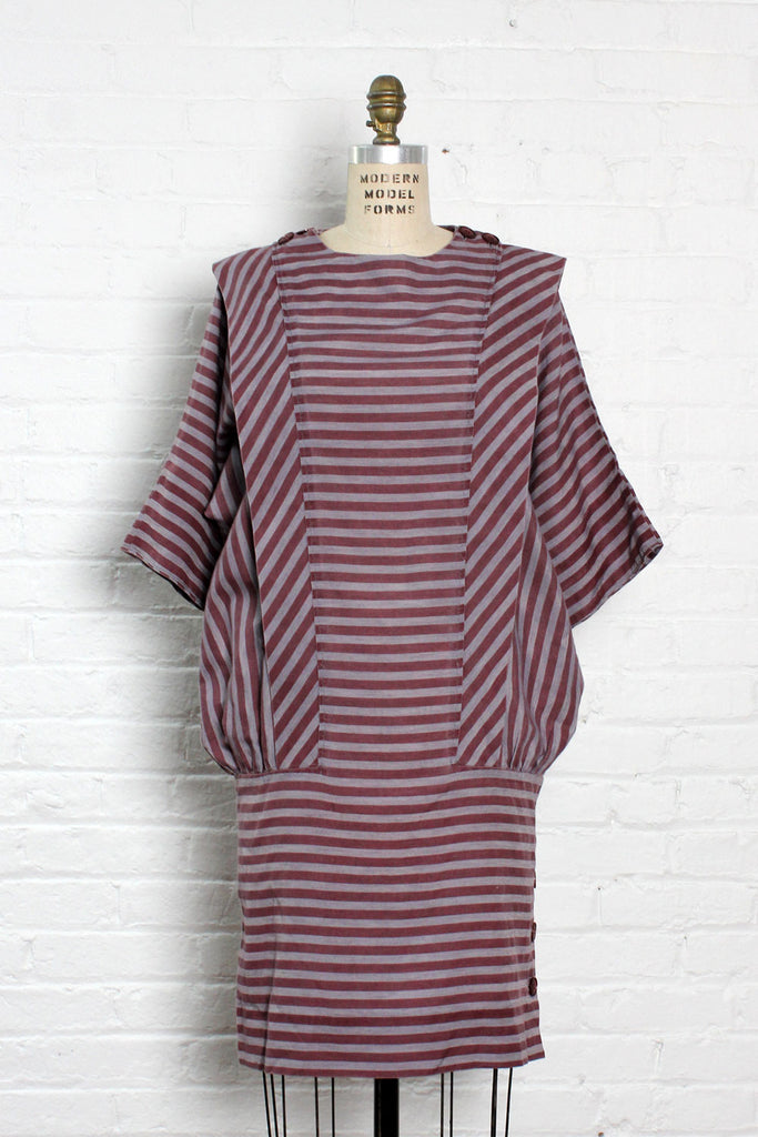 Sassy Stripe Slouch Dress M/L