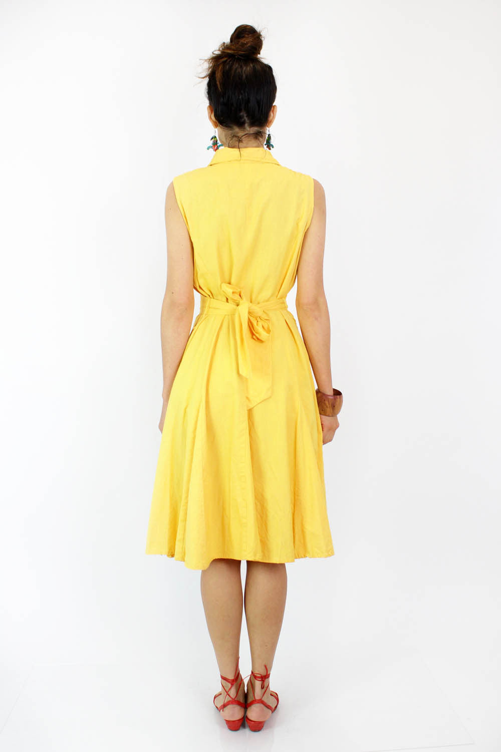 Banana Yellow Shirtdress M/L