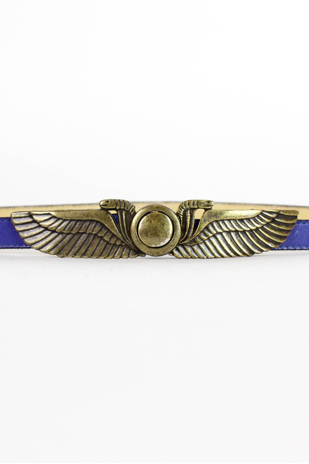 Wings of Isis Leather Belt