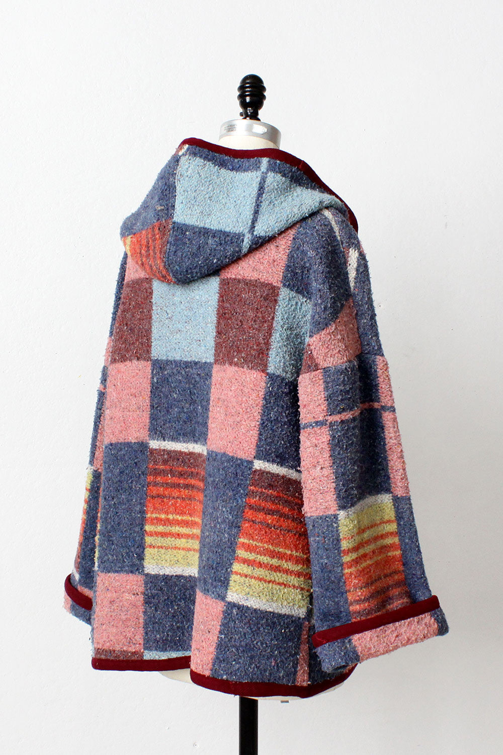 Rainbow Blanket Coat
