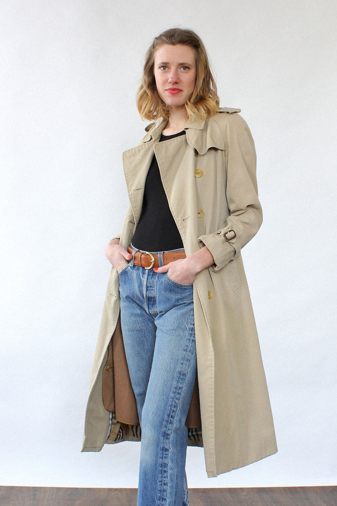 Burberrys' Belted Trench S
