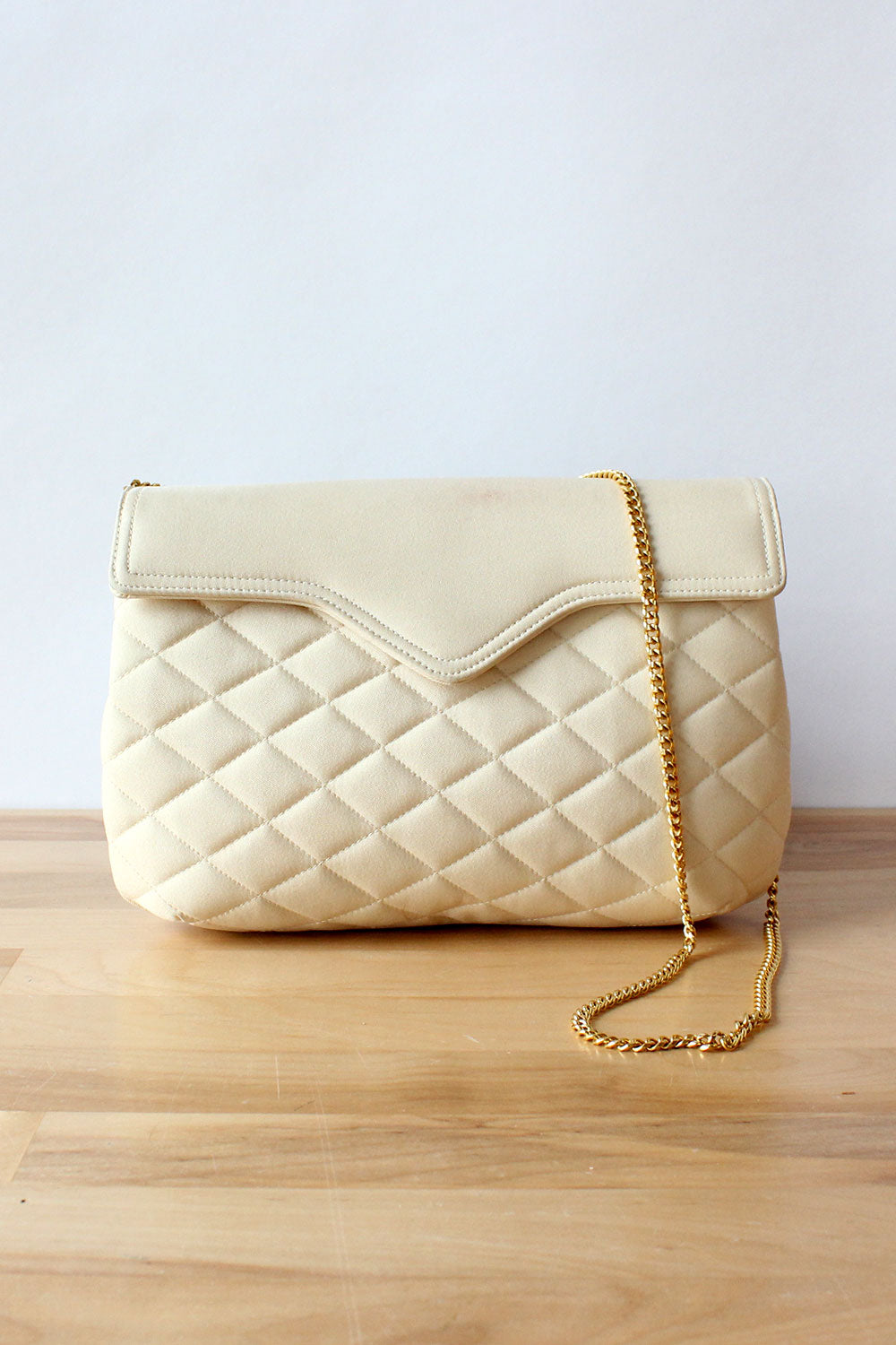 Champagne Quilted Purse