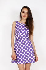 Polka Dot Mini Dress XS