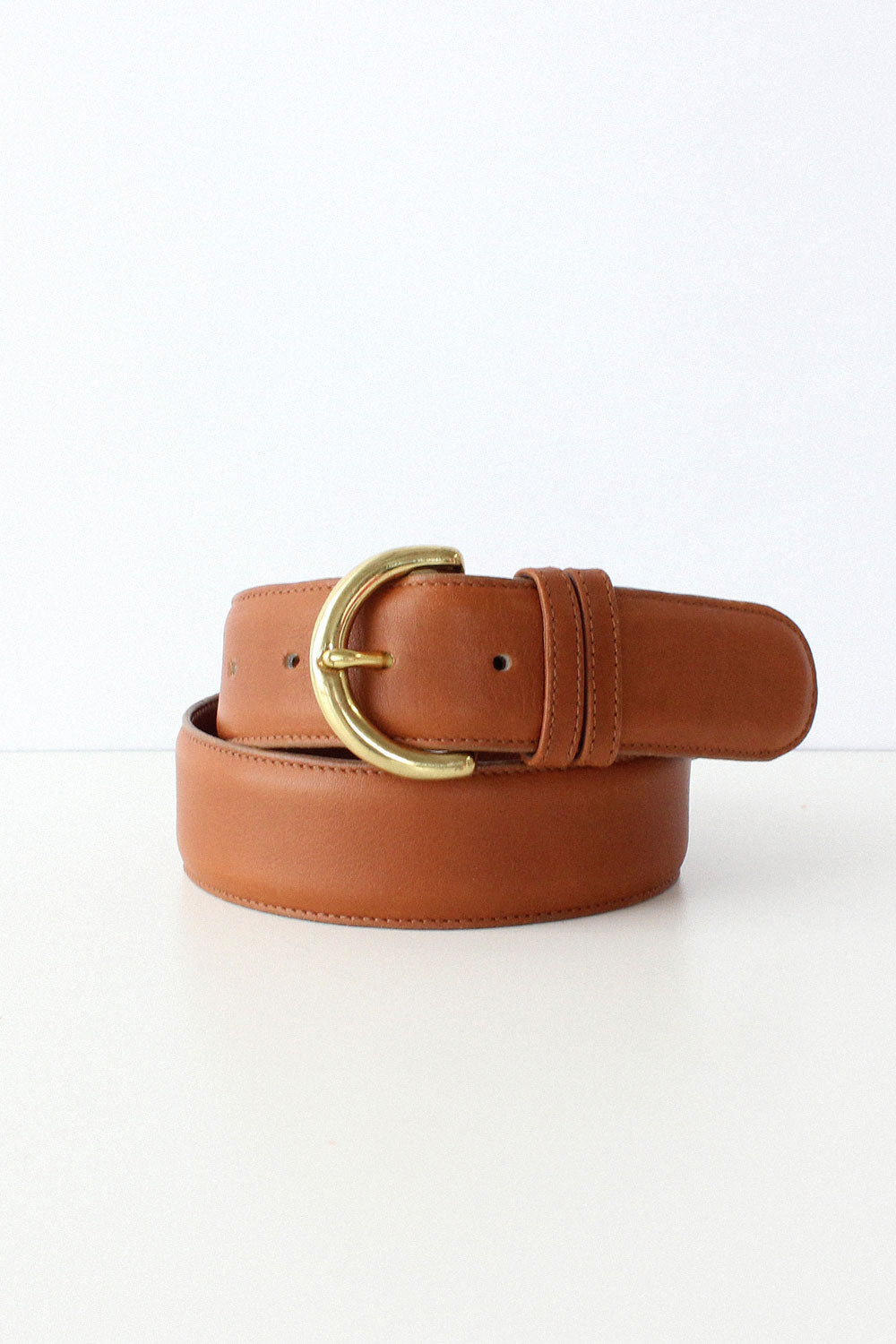 Coach British Tan Belt