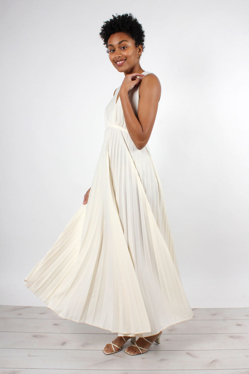 Ivory Disco Goddess Gown S/M