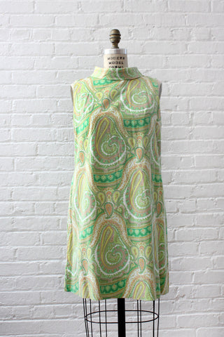 Clementine Chiffon Sixties Dress XS/S