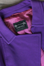 Norman Hartnell Grape Suit S
