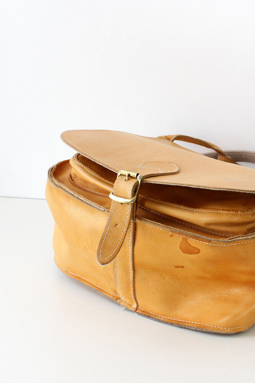 Blonde Saddle Bag