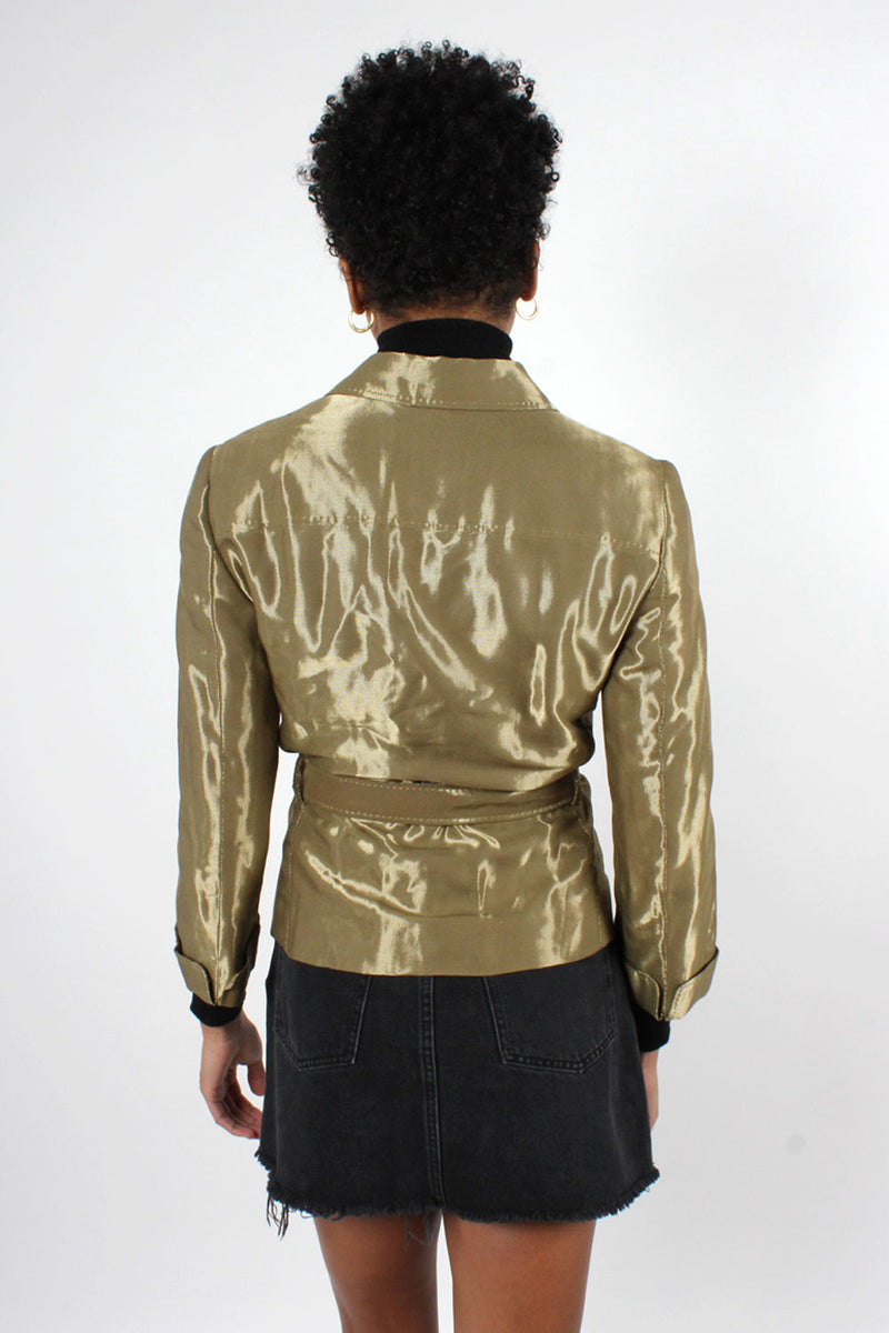 Moschino Metallic Jacket S
