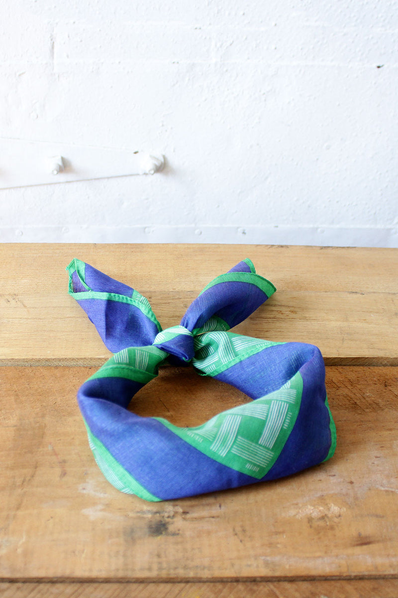 Grass is Greener Scarf