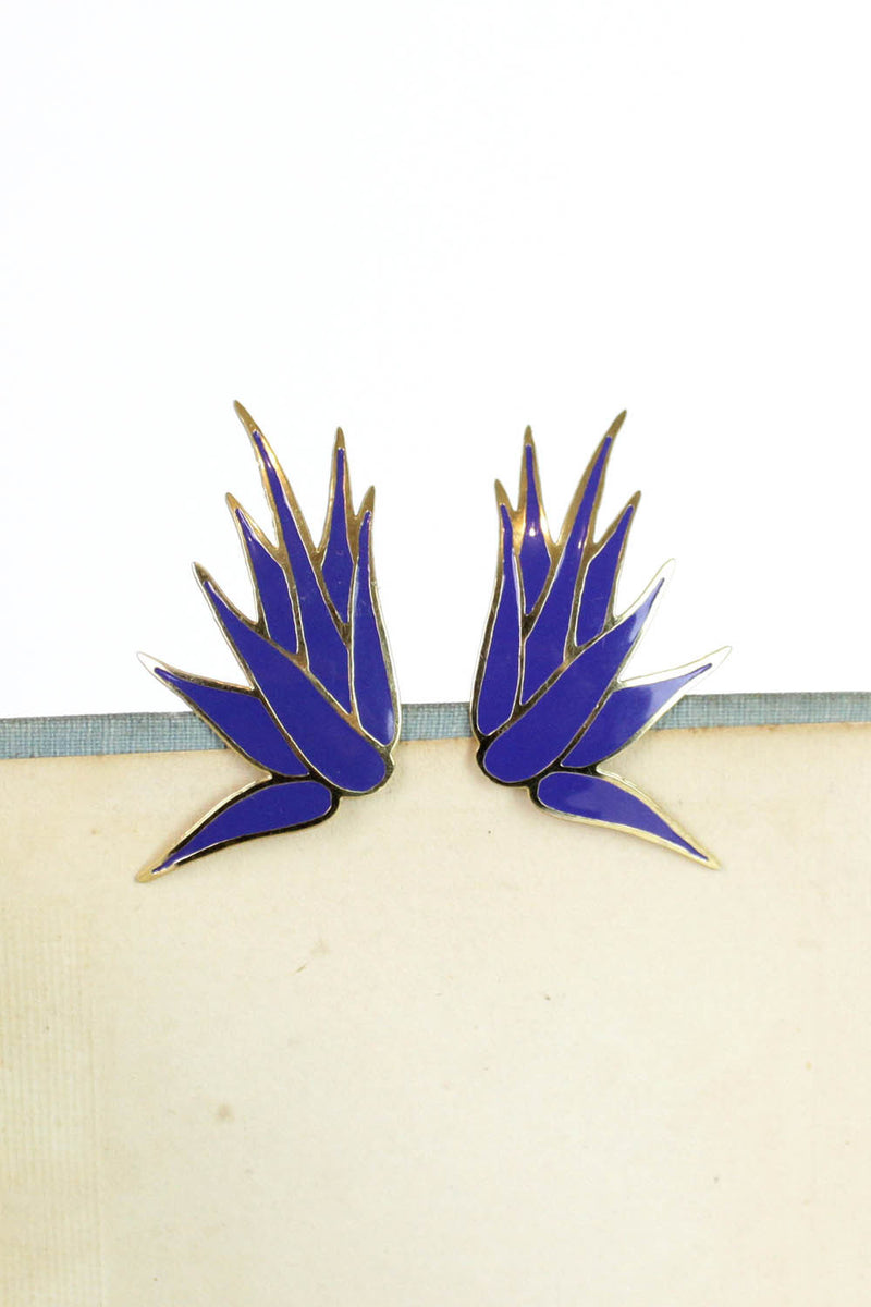 L. Bott Modernist Burst Earrings