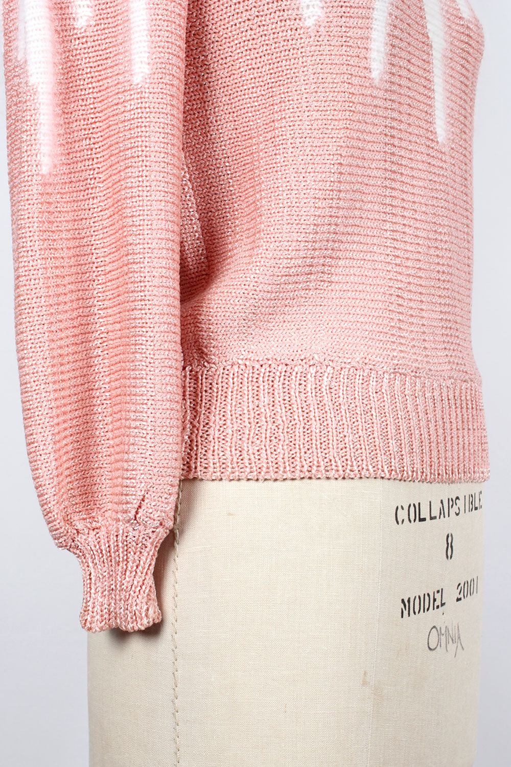 Angora Peachy Pink Sweater M