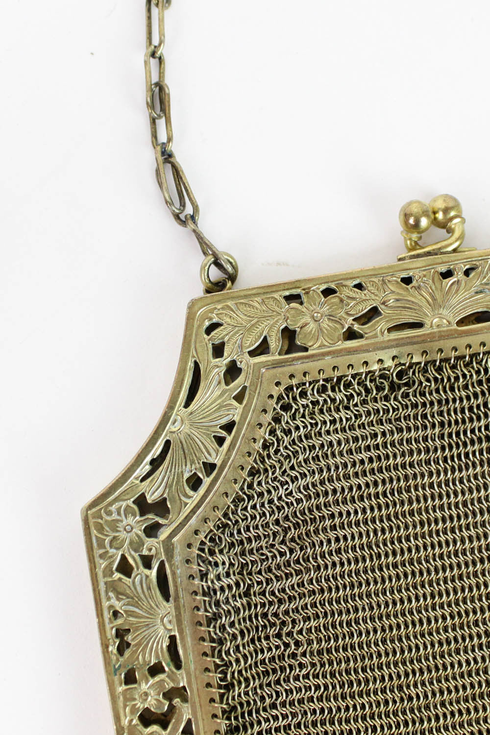 antique metal mesh bags