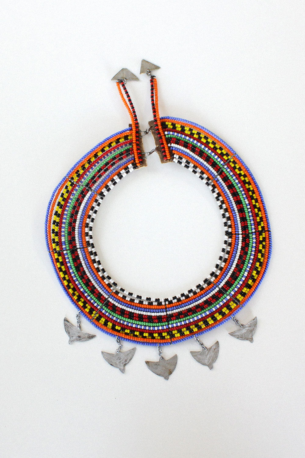 Maasai Beaded Collar Necklace