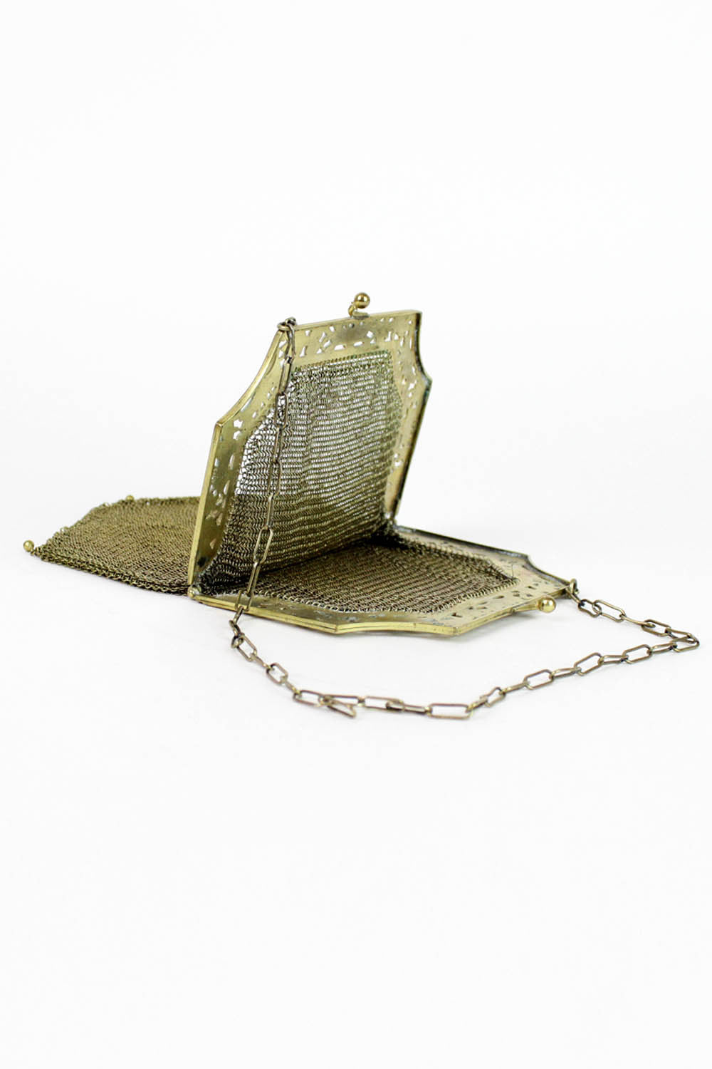 1920s Chainmail Evening Purse