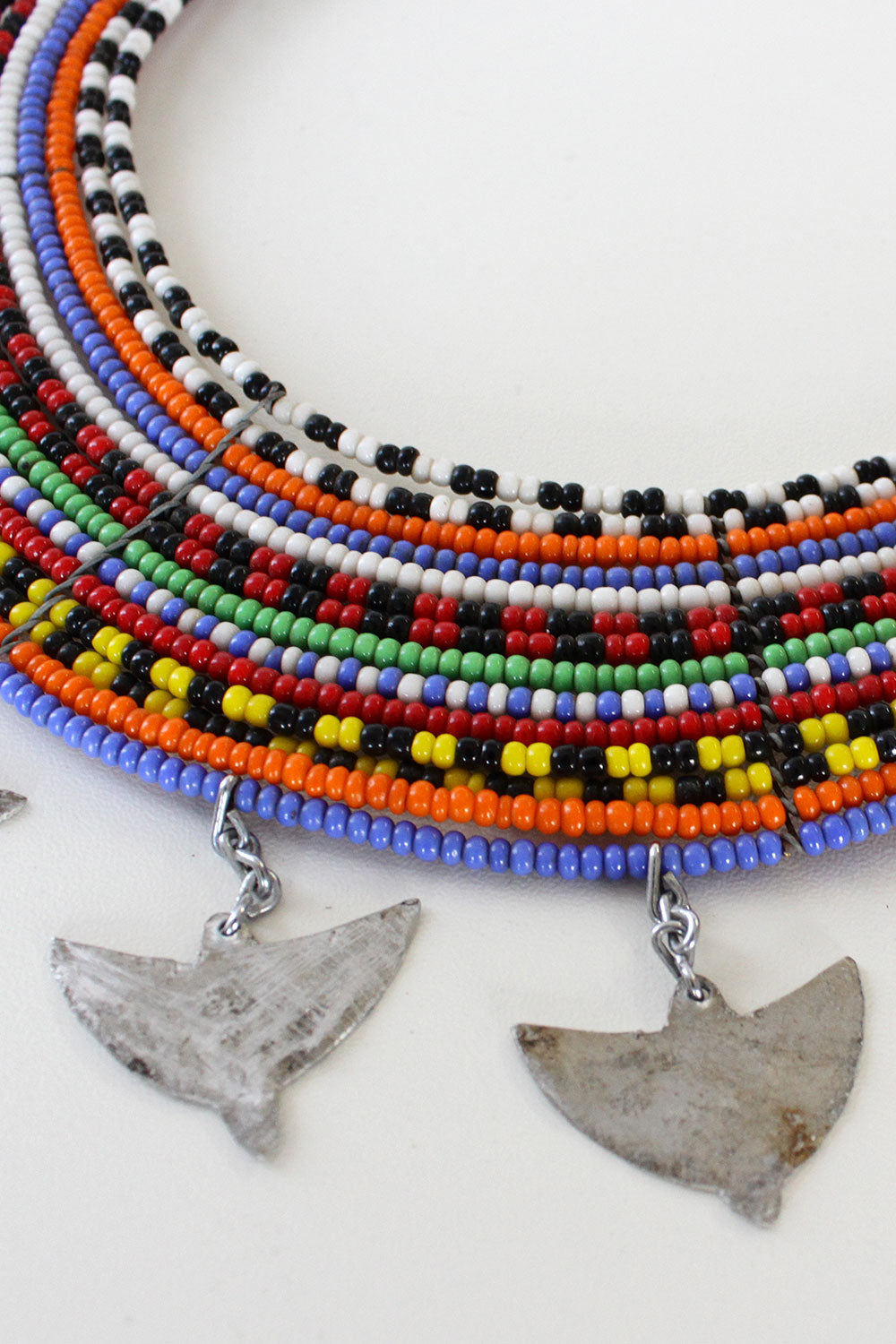 ada3501f97add9 Maasai Beaded Collar Necklace – OMNIA
