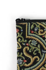 tapestry pouch detail