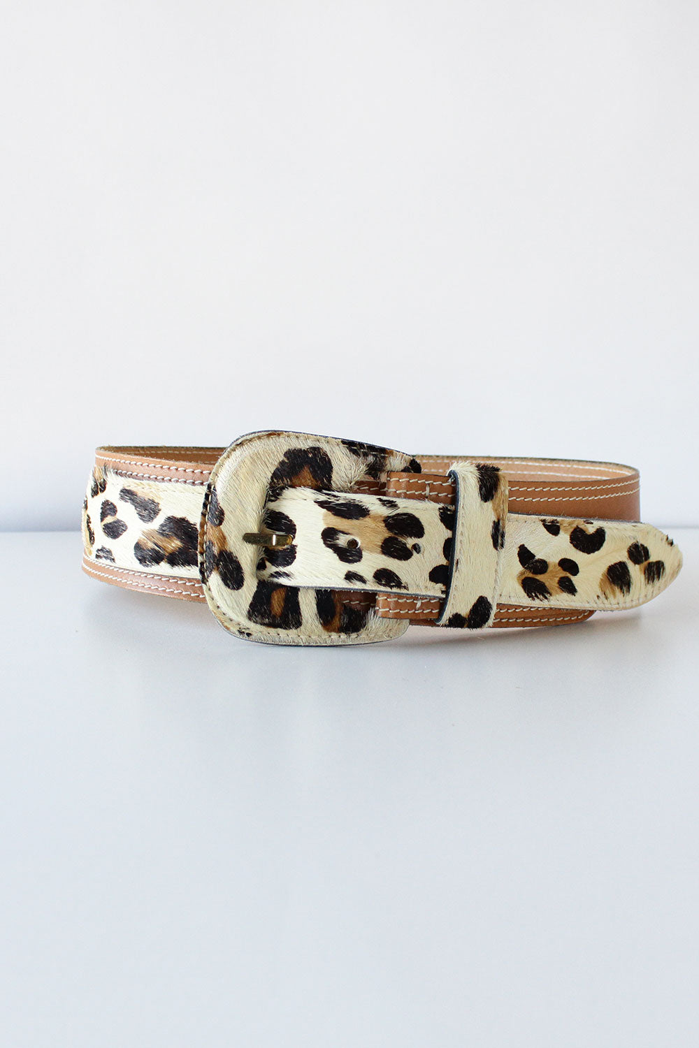 Angelina Leopard Belt