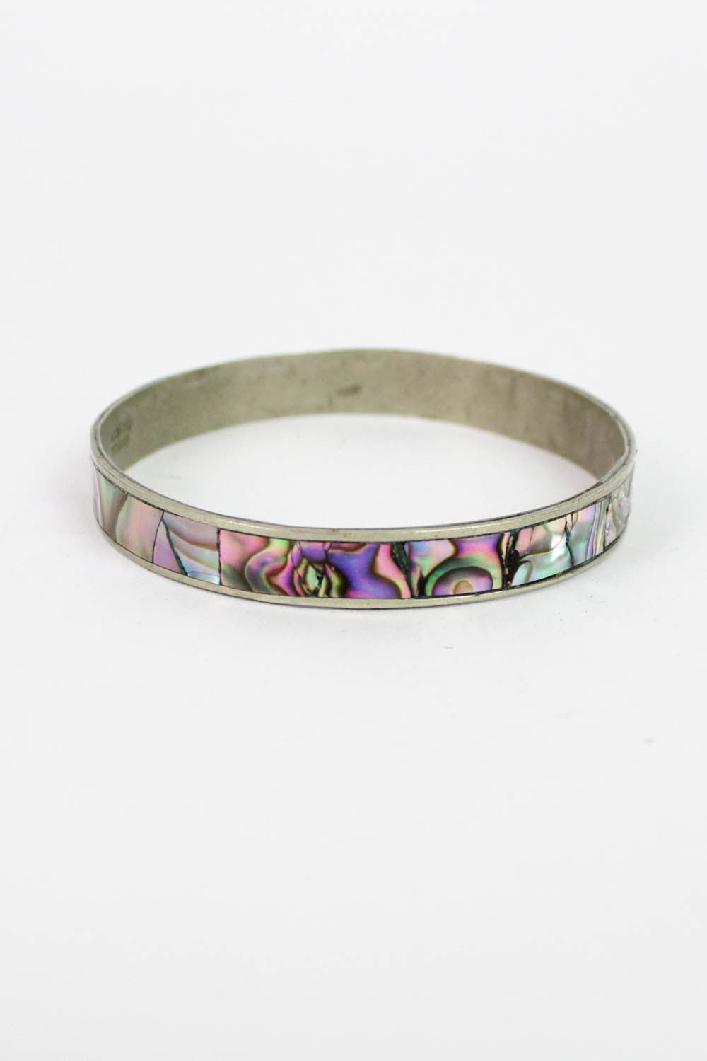 Iridescent Abalone Bangle