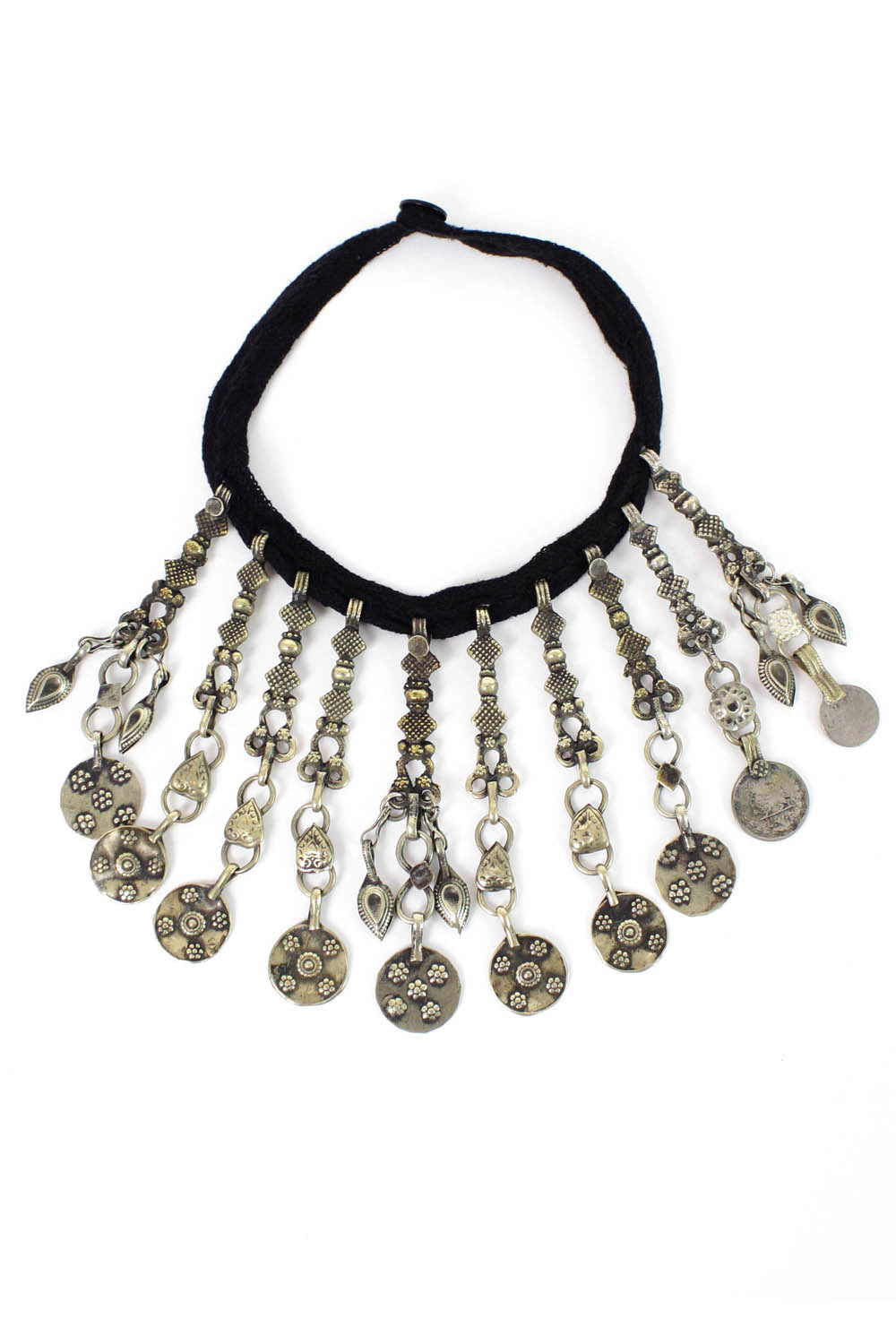 kuchi tribal hippie necklace