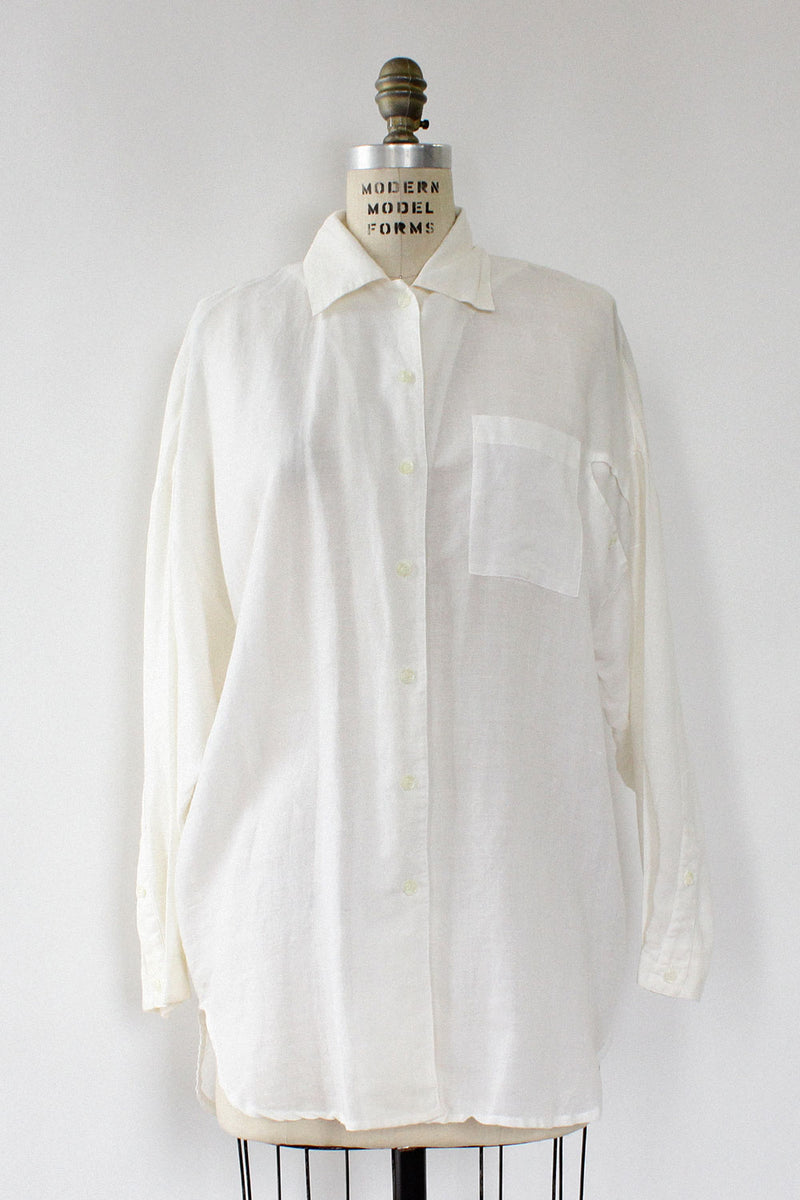 Simac Cutout Button Down