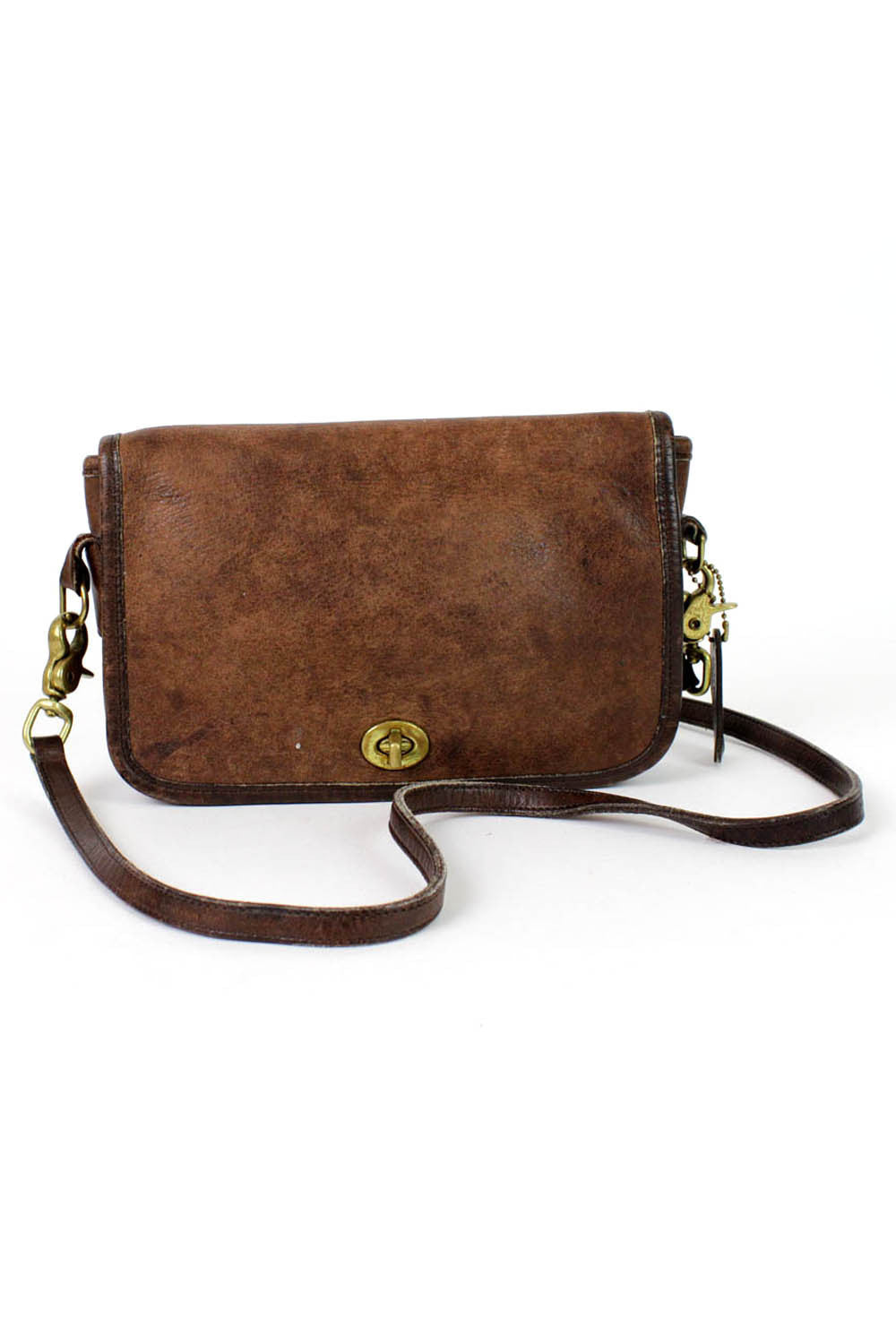 Coach distressed crossbody